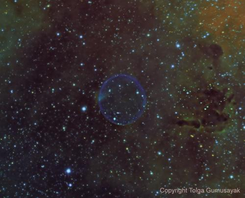 Bubble Nebula Photo Credit: Tolga Gumusayak