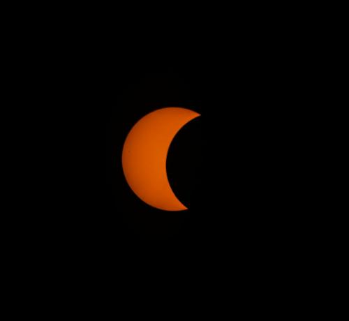 Solar Eclipse 2018 Photo Credit: Isbel Gonzalez